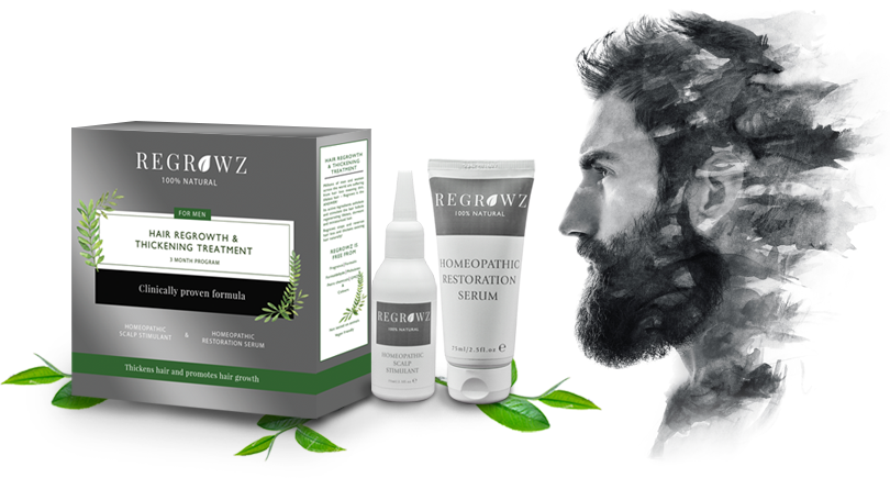 Regrowz 3 month Supply for men