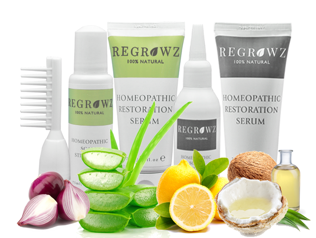 Regrowz Hair care products