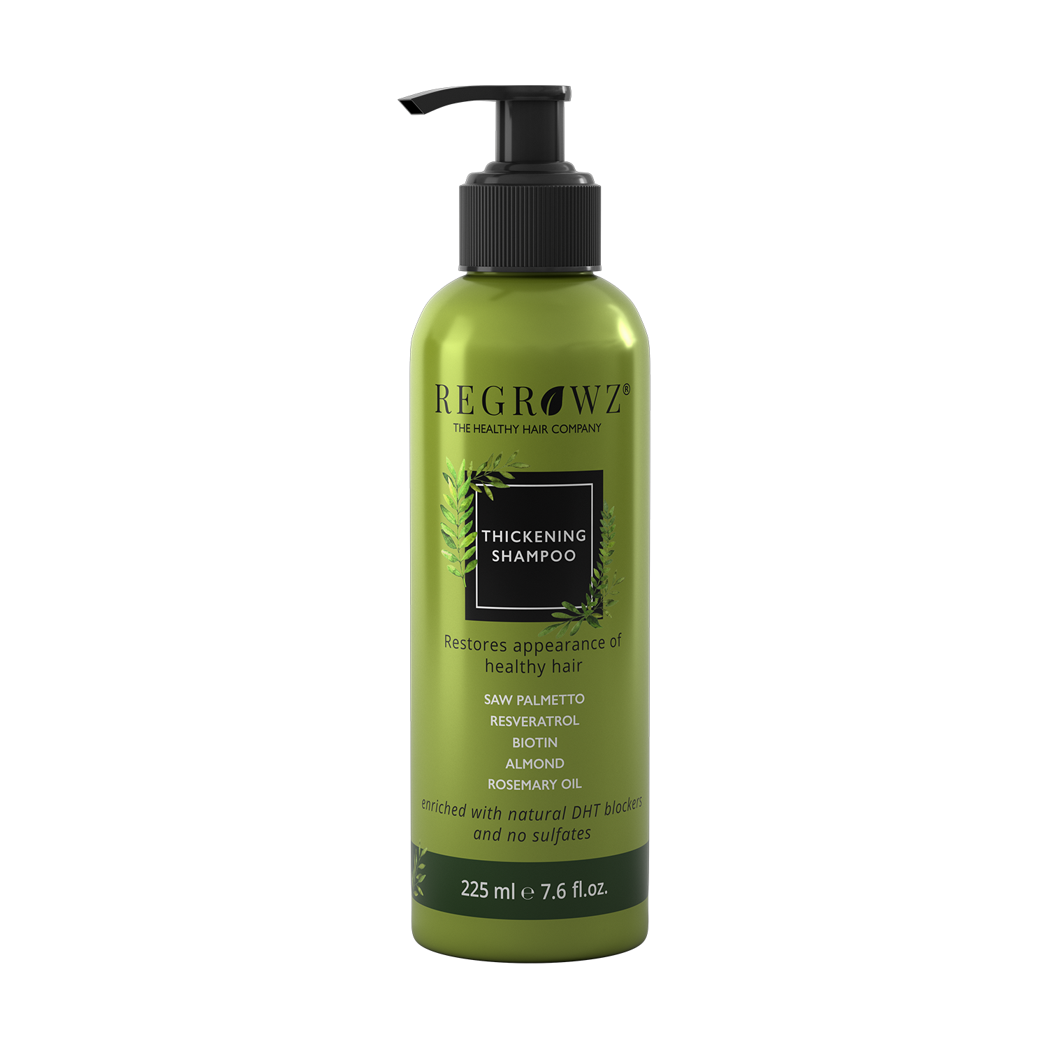 Regrowz Hair thickening shampoo